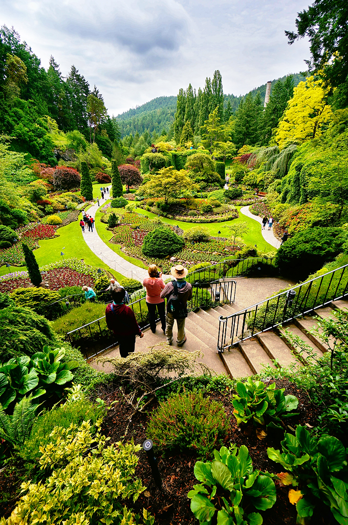 RORO The Sunken Garden In Butchart Gardens, Victoria   By TOTORORO.RORO