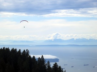 Paragliding over Vancouver | by Ruth and Dave