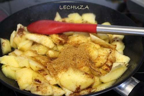tarta manzana con crumble 10 cocina con lechuza flickr
