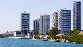 Miami Downtown, Biscayne Bay sightseeing boat trip | by interbeat