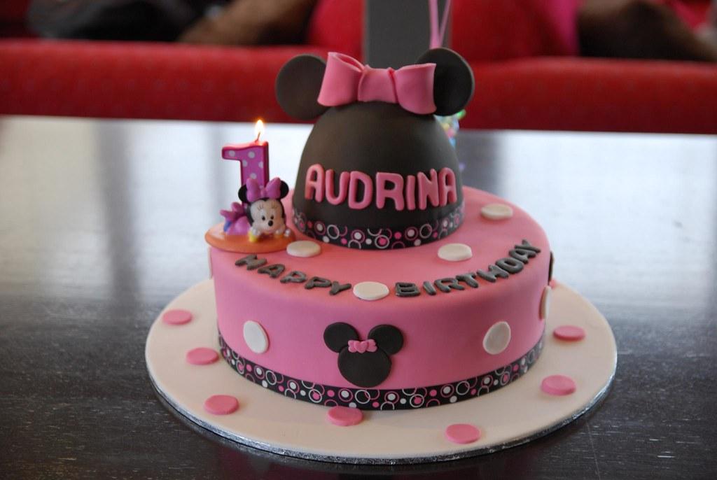 Audrinas 1st Birthday Cake