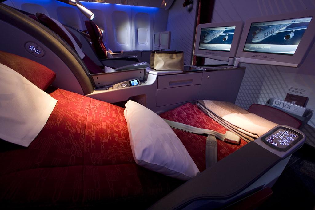 Pic 18 Qatar Airways Boeing 777 300er Business Class Flickr