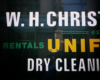 Dry cleaning type #walkingtoworktoday | by Michael Surtees