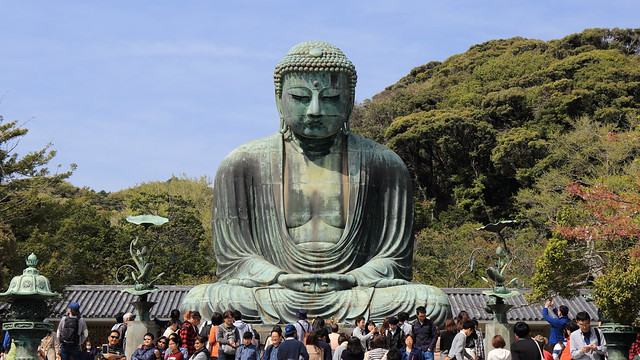 Walking in Kamakura 2015.4 (20) The Great Buddha in Kamamura
