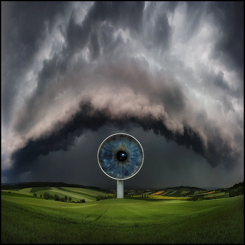 The eye of the storm 2 | by oddsock