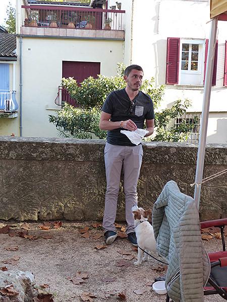 clem et le chien