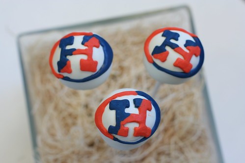 Hobart College Logo Cake Pops | by Sweet Lauren Cakes