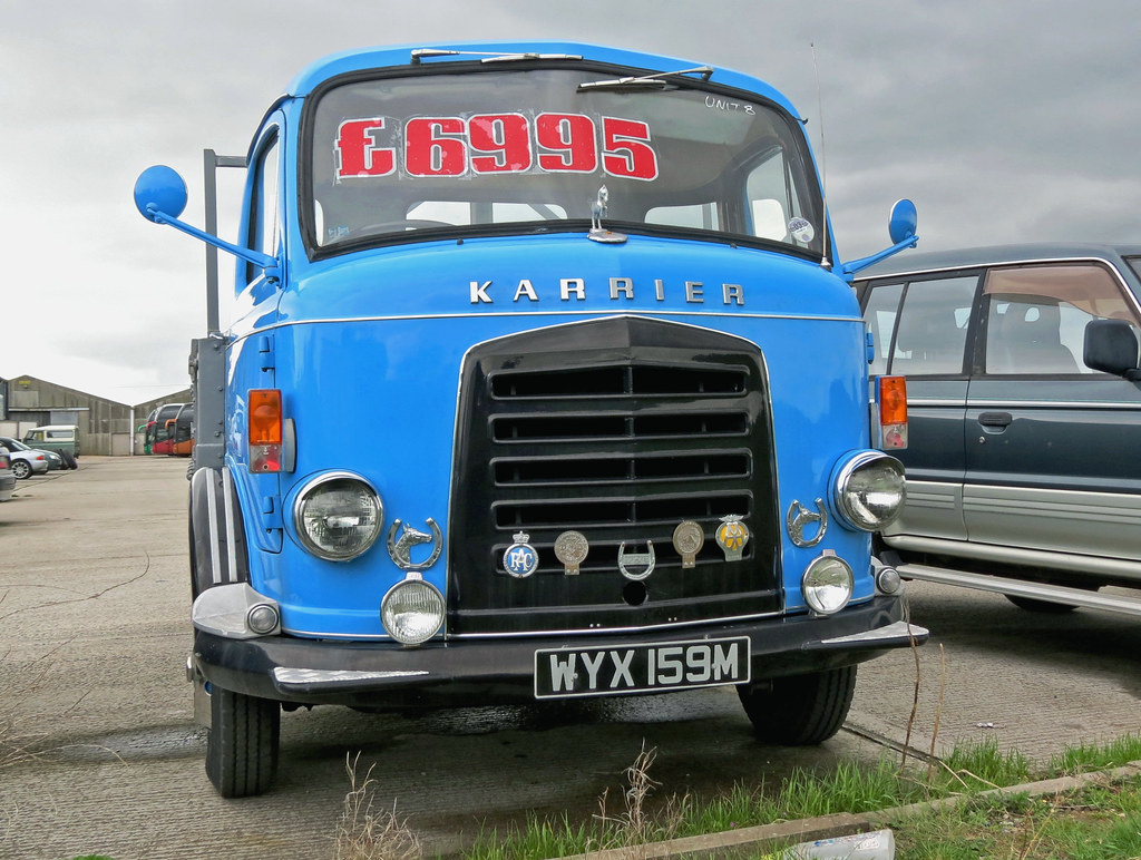 Karrier Bantam Tipper lorry recently sold | I have been info… | Flickr