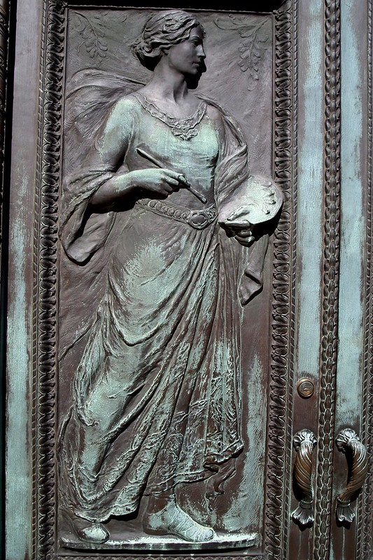 Painting Bronze Door Detail The American Academy of Arts …