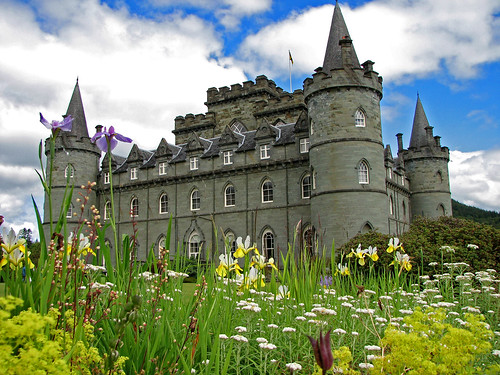 Inverary Castle Gardens | by tubblesnap