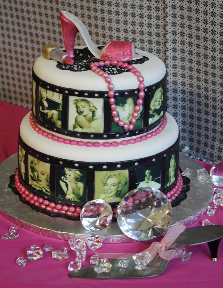Marilyn Monroe High Heels Shoe Birthday Cake The Cake Zo Flickr