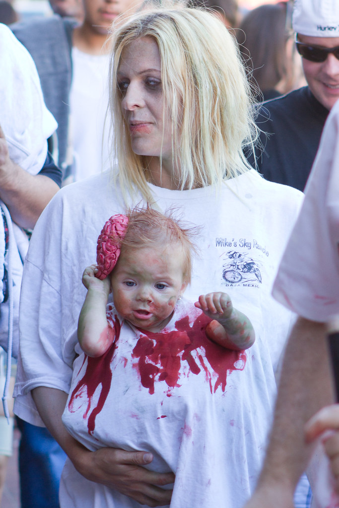 ... Comic-Con 2011 - Zombie Mom and Baby | by scbaker  sc 1 st  Flickr & Comic-Con 2011 - Zombie Mom and Baby | Shawn Baker | Flickr