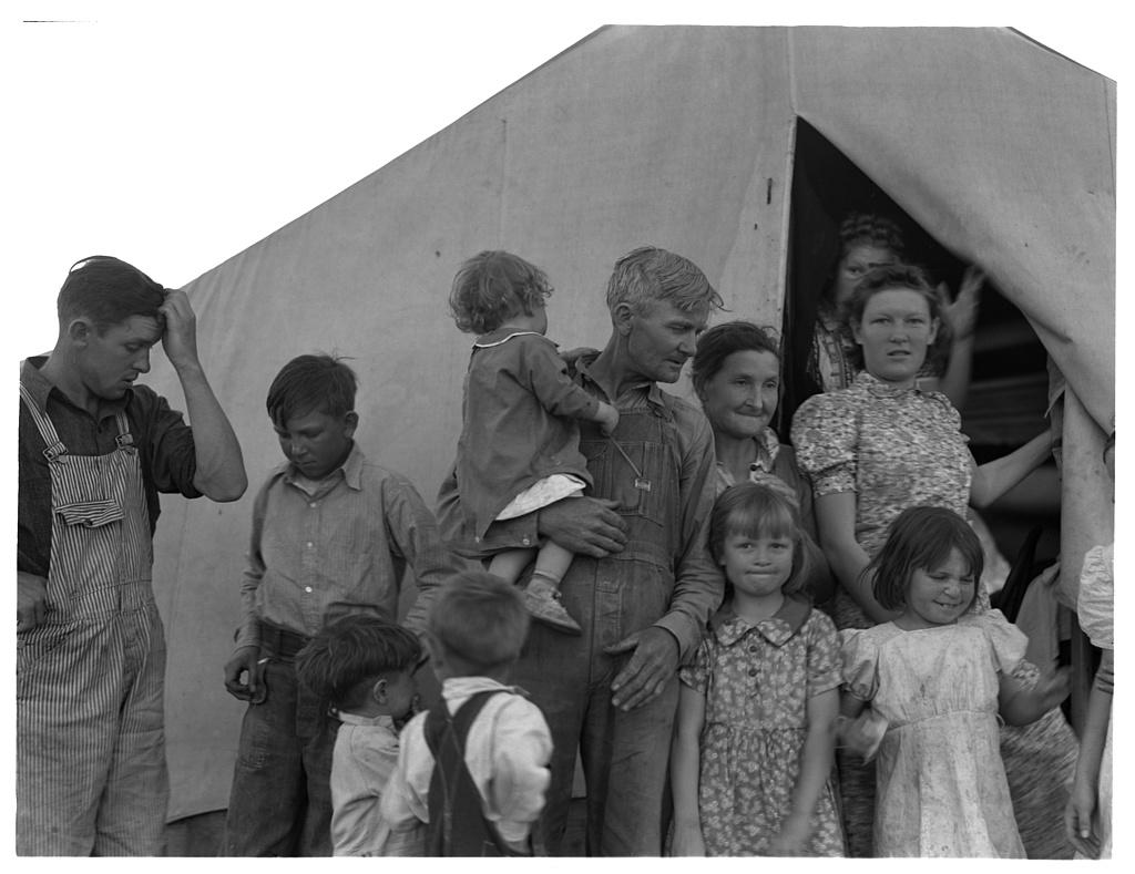 Image result for children dust bowl