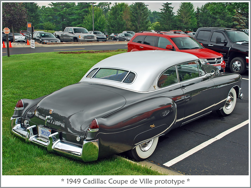 1949 Cadillac Coupe de Ville Prototype  Photographed on Jul  Flickr
