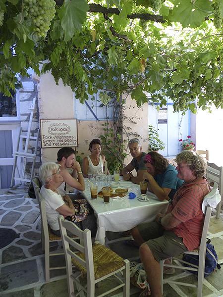 petit dej à Halki 2