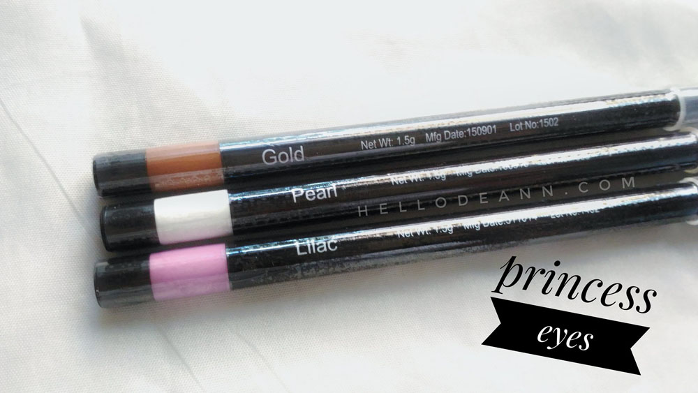 Fashion 21 Twist Eye Pencil Review Princess Eyes - Hello Deann