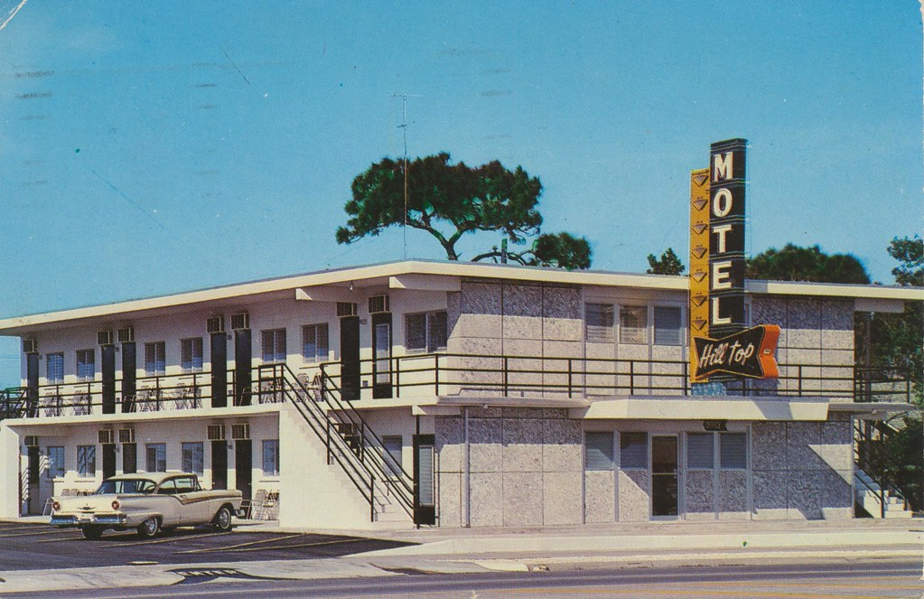 Hill Top Motel - St. Petersburg, Florida