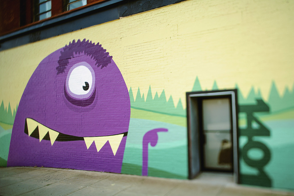 ChoreMonster Monster Wall Mural   This is Jeff Geoff. He\'s p…   Flickr
