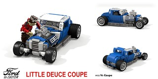 Ford 1932 Custom V8 Coupe - Beach Boys - Little Deuce Coupe