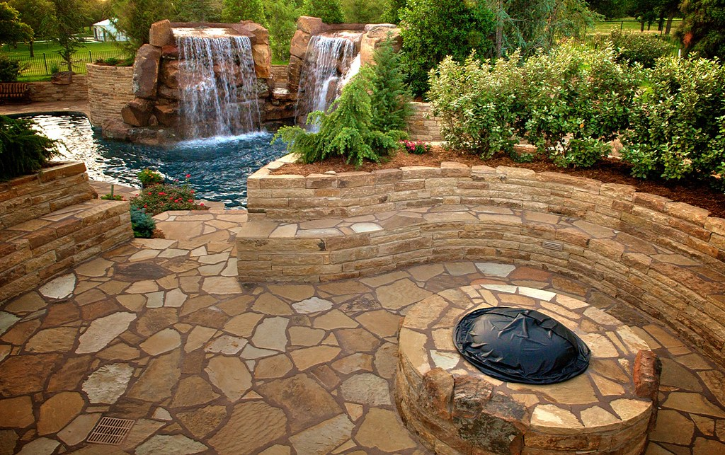 Image result for stone patio