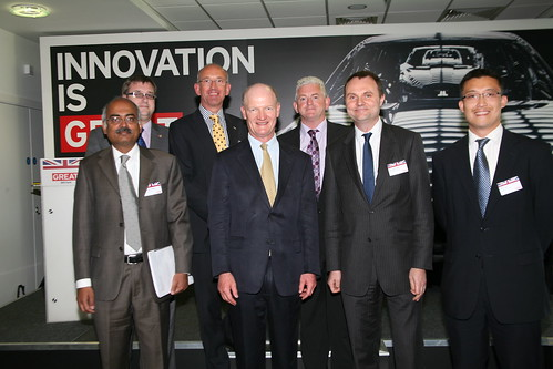 David Willetts with delegates at India Day, Edgbaston | by UKTI [closed account]