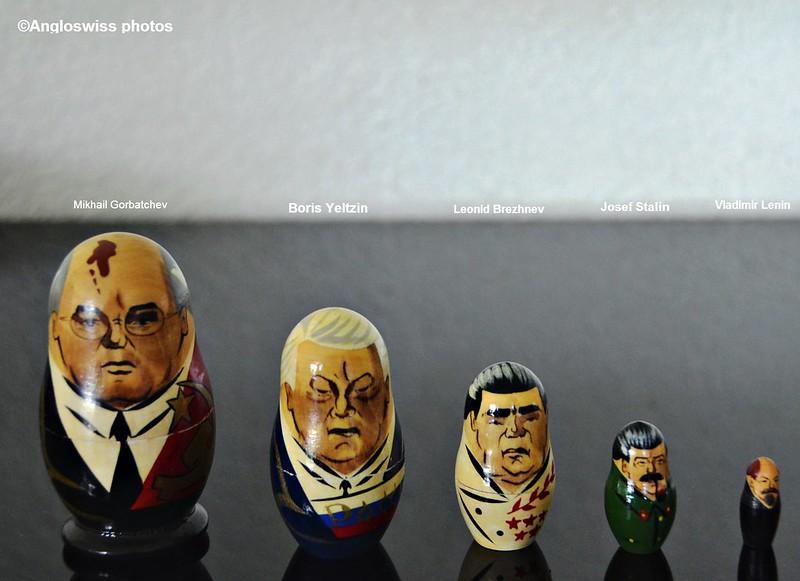 5 Russian presidents