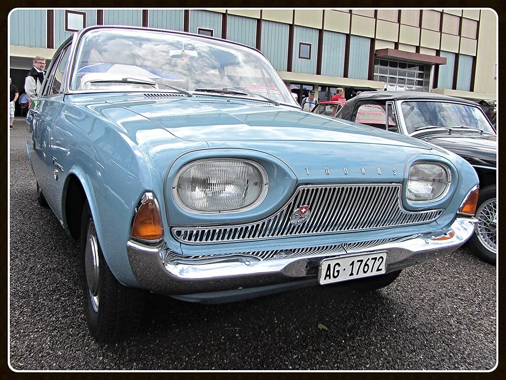 Ford Taunus P3 17m 1963 Badewanne Oldtimers Bleienbach Flickr