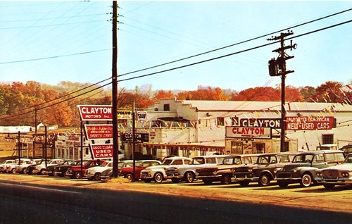clayton motors inc knoxville tn 1960s 4623 clinton