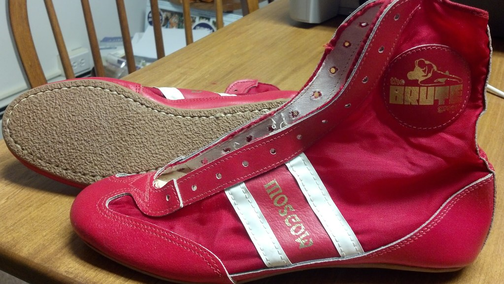 Brute Moscow Vintage Wrestling Shoes (US 8.5) Never touche… | Flickr