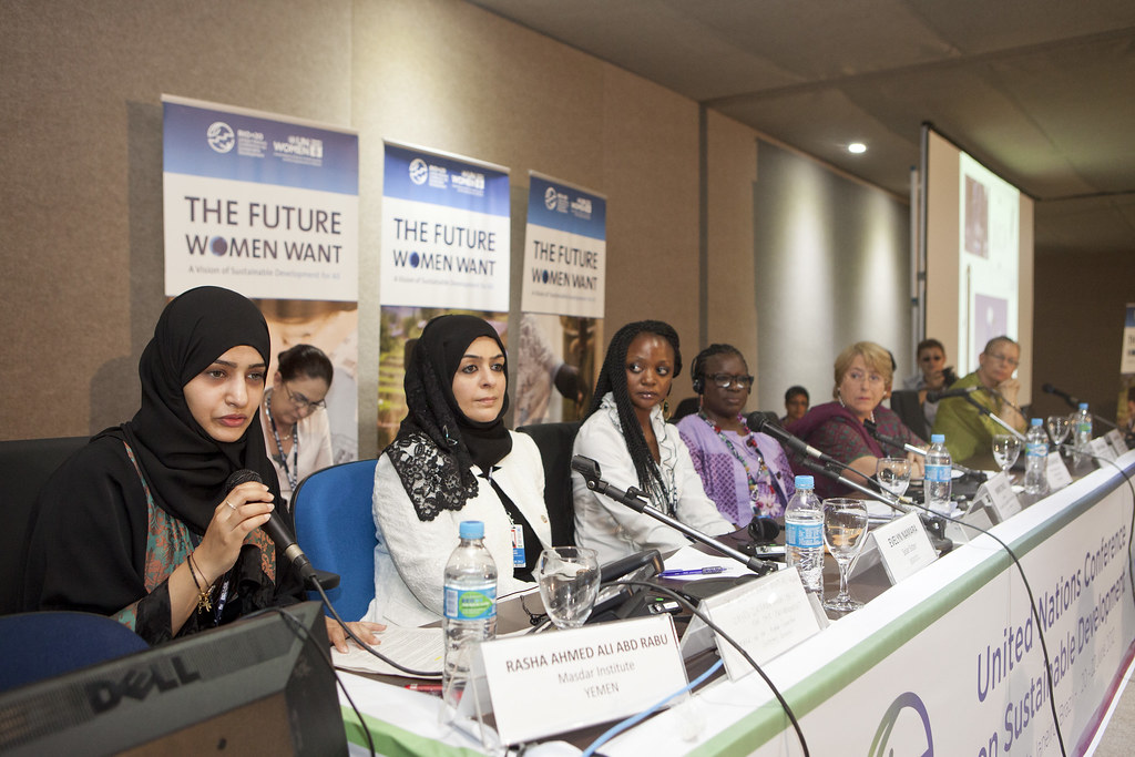 UN Women Leaders Forum At Rio 20