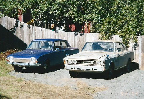 My 1968 Ford 20M and 1964 Corsair | by IFHP97