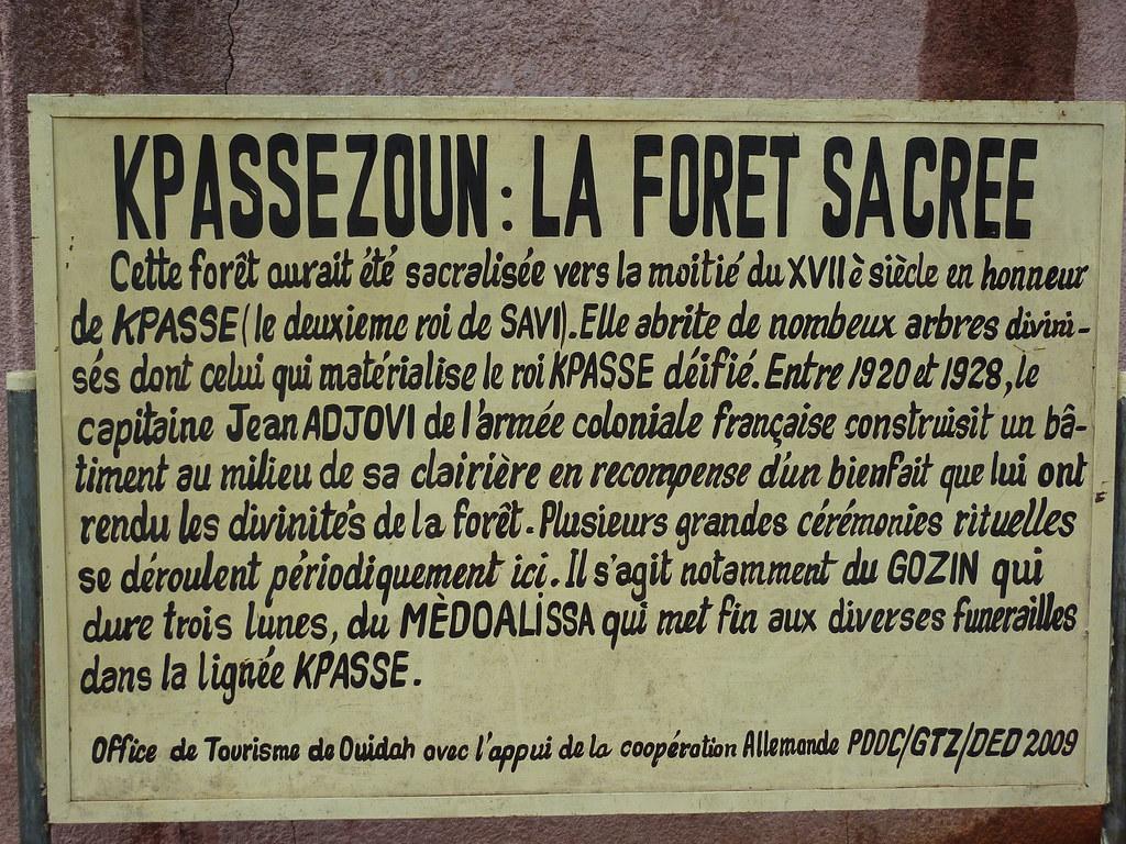 Image result for forêt kpassè benin