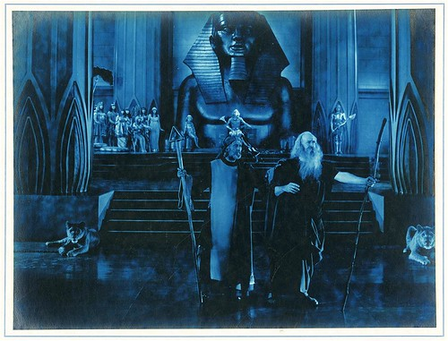 Scene from Cecil B. DeMille's The Ten Commandments | by California Historical Society Digital Collection
