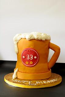 Beer Mug Cake Without Fondant