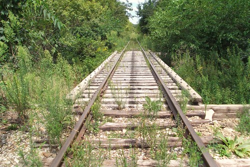 Steamboat Rock Iowa Railroad Bridge M Amp St L Minneapolis