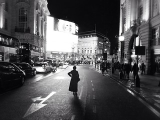 Waiting woman, London | by oggsie
