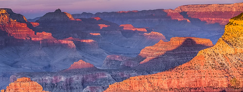 Sunset on Grand Canyon from South Rim | by umbertodpc