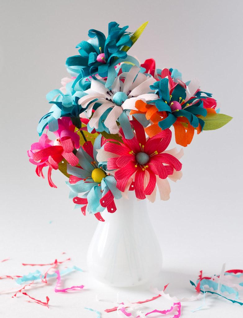 Handmade Paper Flowers Vitaminihandmade Flickr