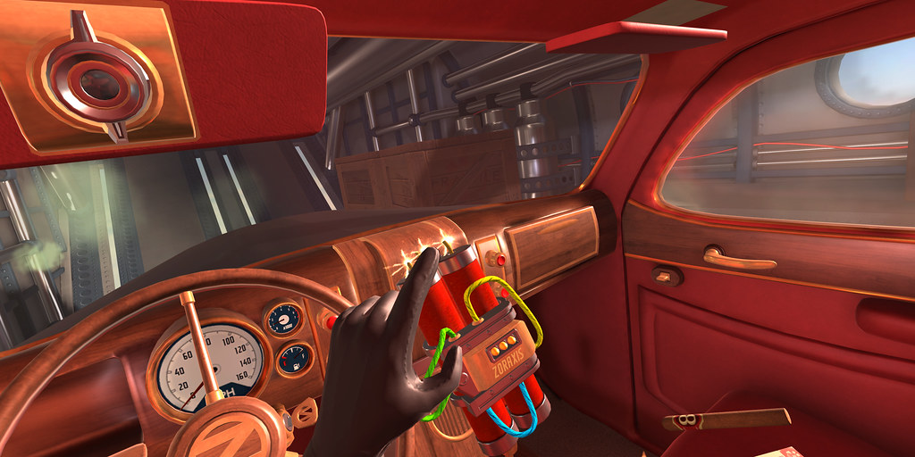Deaths abound in PlayStation VR spy title I Expect You To Die, out December