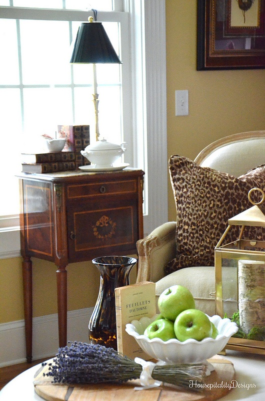 Fall Vignette - Fall Great Room - Housepitality Designs