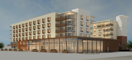 Bayside Doubletree Hotel Expansion Renderings