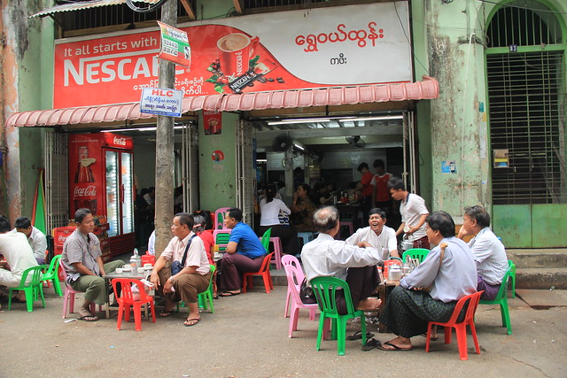 Shwe We Htun Teahouse, Yangon