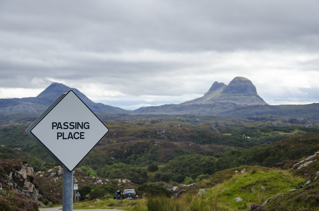 Passing Place and Suilven