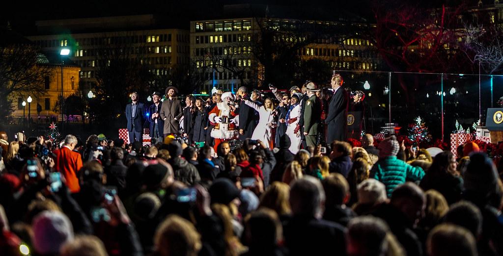 20161201 christmas tree lighting ceremony white house washington dc usa 09329 - White House Christmas Tree Lighting