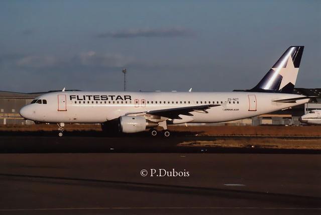 Flitestar A320-211 ZS-NZT