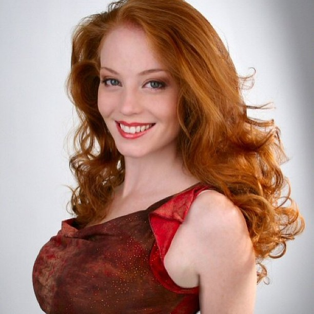 Hot redhead models
