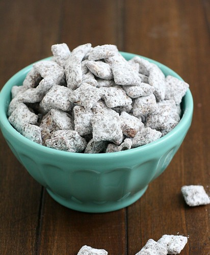 Nutella Mocha Muddy Buddies | by Tracey's Culinary Adventures