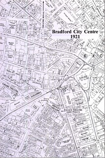 Map of Bradford - 1921 | by Bradford Timeline