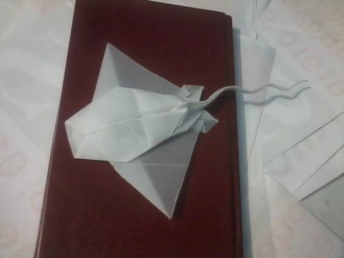 origami manta ray satoshi kamiya designer satoshi kamiya. Black Bedroom Furniture Sets. Home Design Ideas