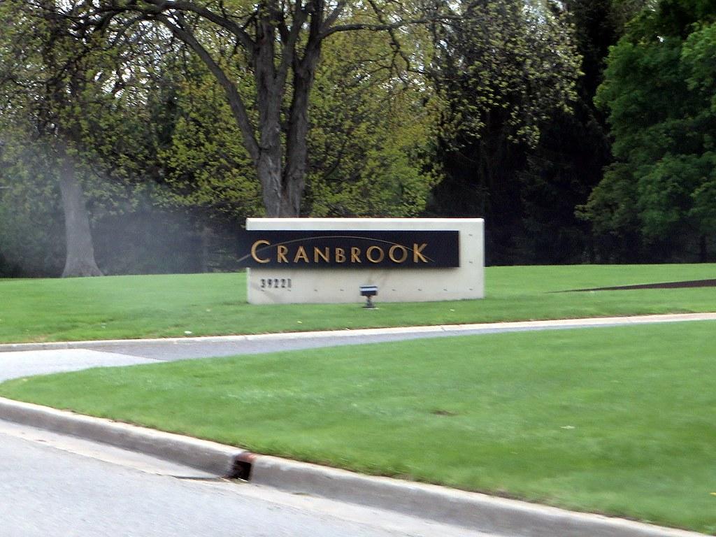 Entrance to Cranbrook, Bloomfield Hills, Michigan | Cranbroo… | Flickr